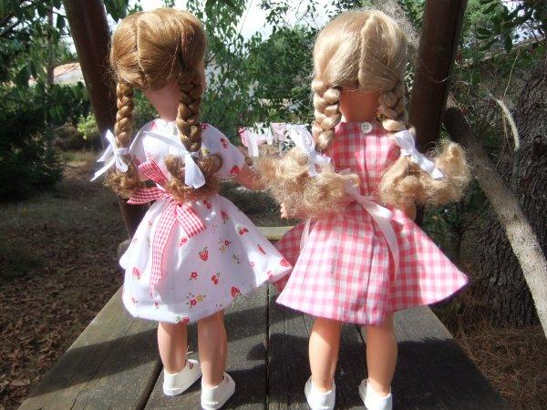 Mes petites Bella Nadette et Nadou