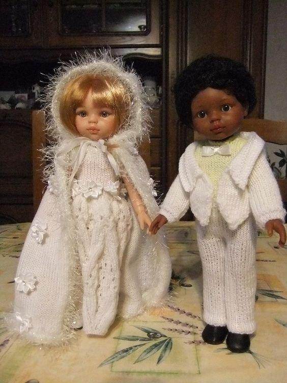 Les mariés.