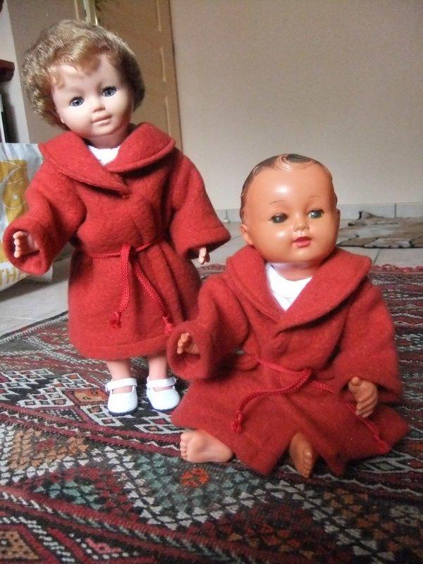 Chaudes et douillettes robes de chambre de 1961 et conciliabule du dimanche.