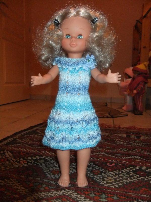 Une robe tricotée pour Nancy!