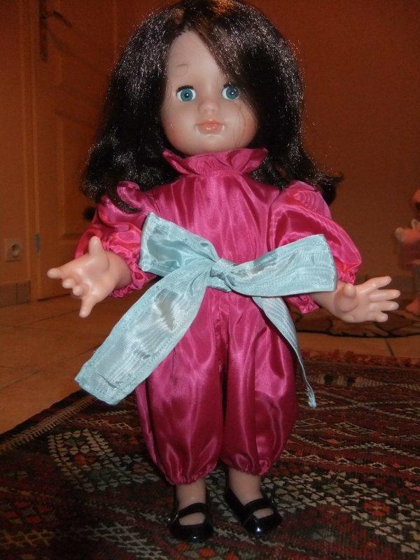 Costume de fête de décembre 1987 pour Emilie!