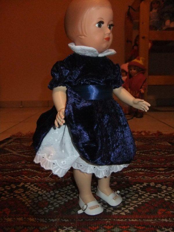 Robe de fête de décembre 1951 pour Françoise!