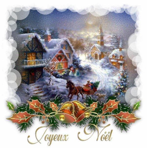 Joyeux Noël et bonnes fêtes à tous!