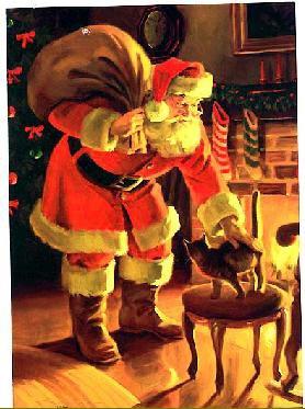 Bientôt le réveillon et le passage du Père Noël!