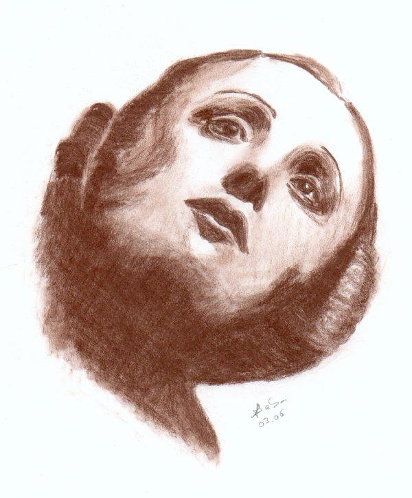 Pour draw-head, BleuOrange et tous ceux que ça intéresse: les contrastes en dessin suivant le type de crayon