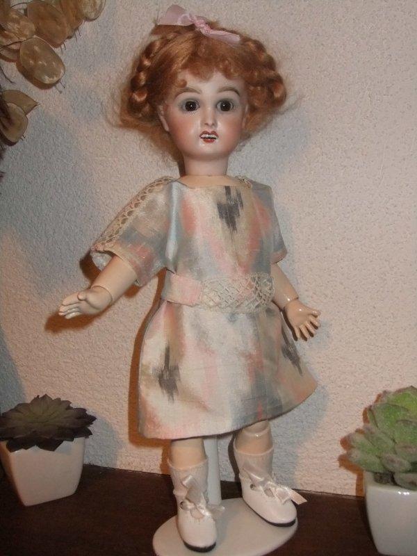 Trois petites robes pour Bleuette!