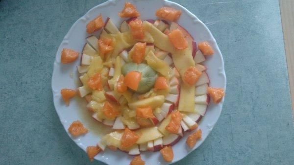 Des assiettes vitaminées préparées par ma fille!