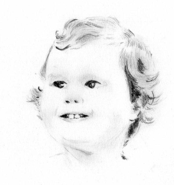 Qui est ce bébé que j'ai dessiné?