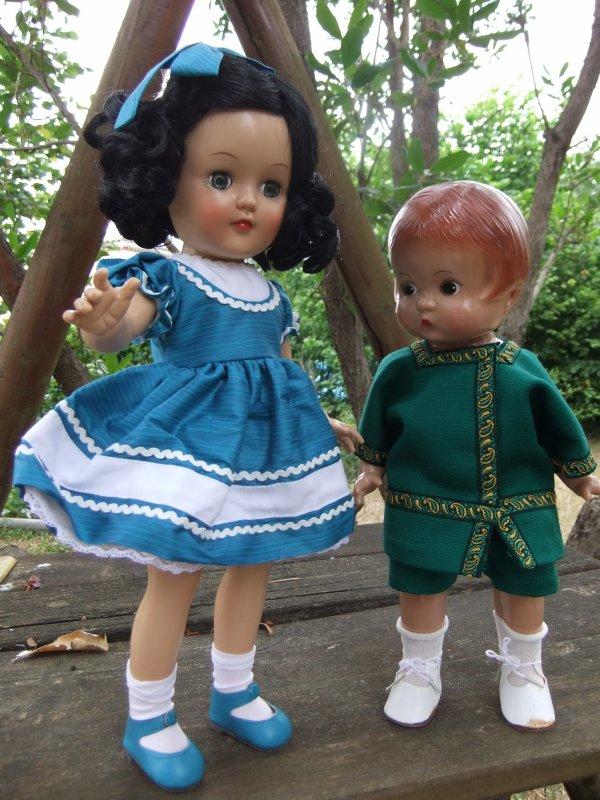 Patsy vous présente sa cousine originaire d'Amérique comme elle (Effanbee)!
