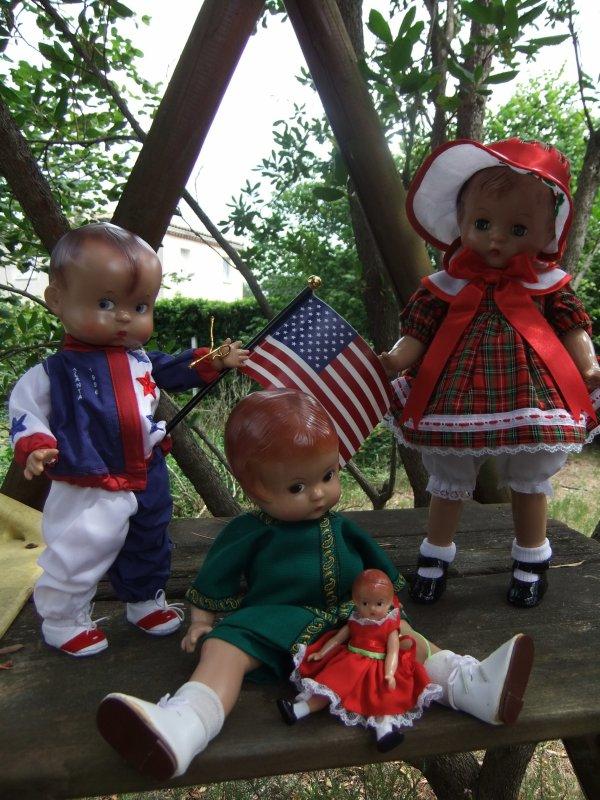 Ma petite famille américaine Effanbee!
