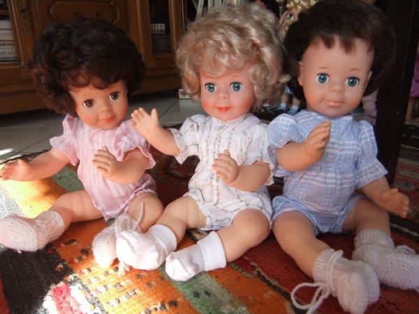 Les barboteuses! (modèle d'octobre 1974)