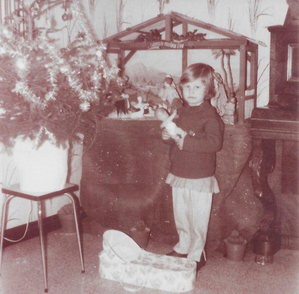 Moi à Noël 1965!