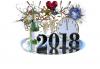 Bon réveillon! Bonne et heureuse année 2018! Et que votre santé soit préservée!