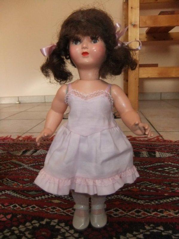 Ma petite Gégé avec des dessous modèle de Bleuette!
