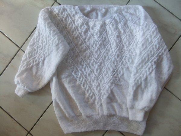Et voilà, mon pull est enfin terminé!