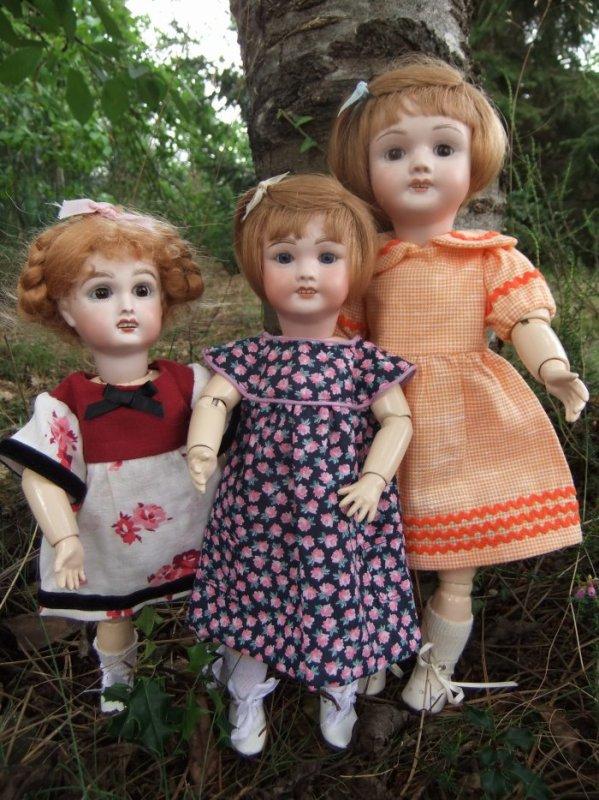 Les 3 soeurs!