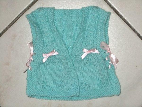 Dernier tricot terminé !