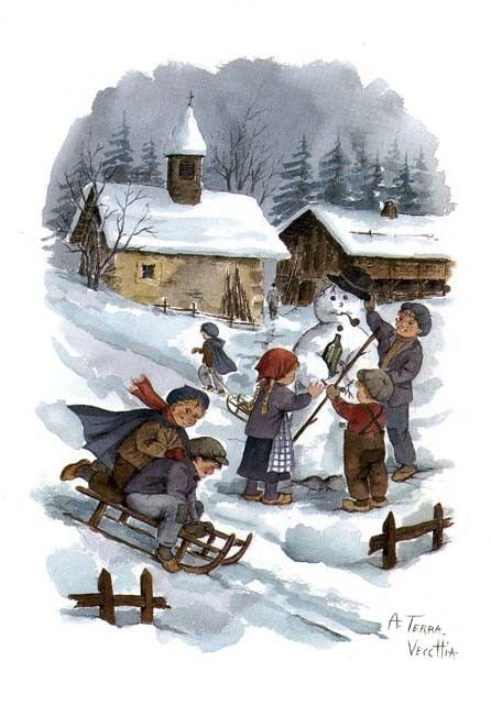 L'hiver de mon enfance !