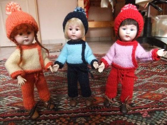 Riri, Fifi et Loulotte prêtes pour la montagne !