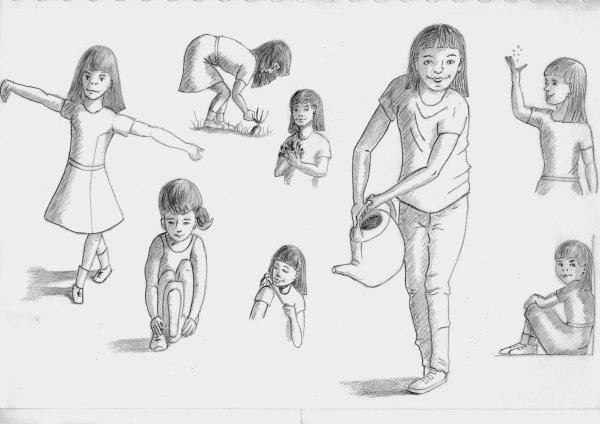 Petits exercices pour la création d'un personnage d'imagination et de mémoire.