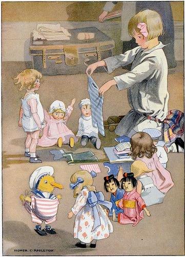 J'adore, ça me fait penser à Cendrillon qui habille les petites souris!