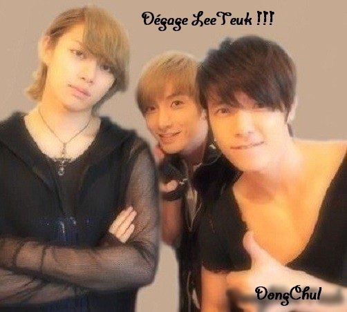DongChul - Dégage LeeTeuk !!!