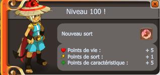 enfin le lvl 100