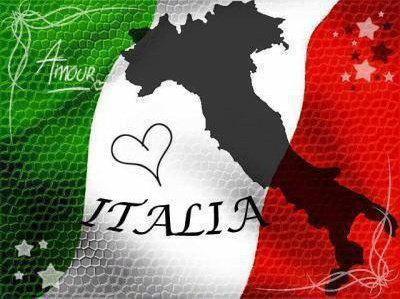 L'Italia è parte di me fino al mio cuore.............<3
