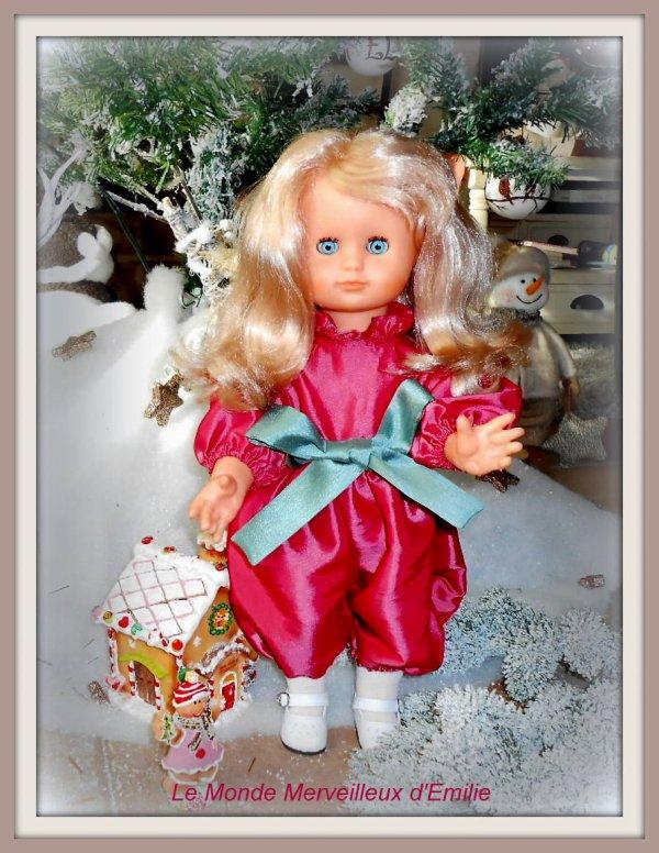 Emilie porte la combinaison de décembre 1987