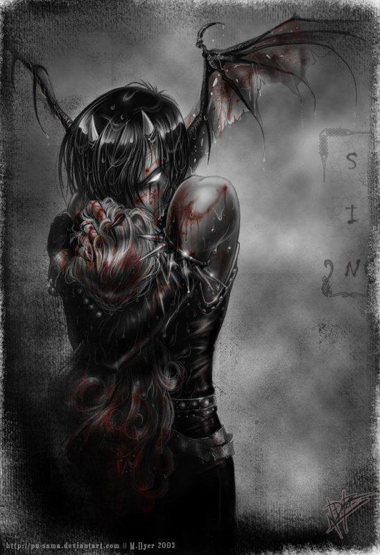 Entre obscurité et démon