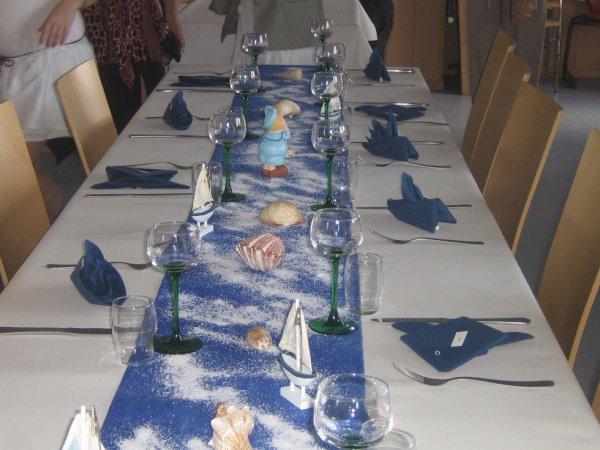 Decoration De Table Bapteme : Deco table bapteme matheo de licorne