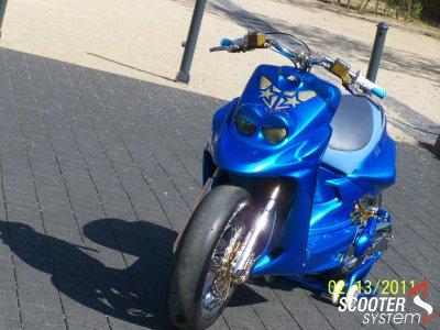 Booster Rocket Custom Blue