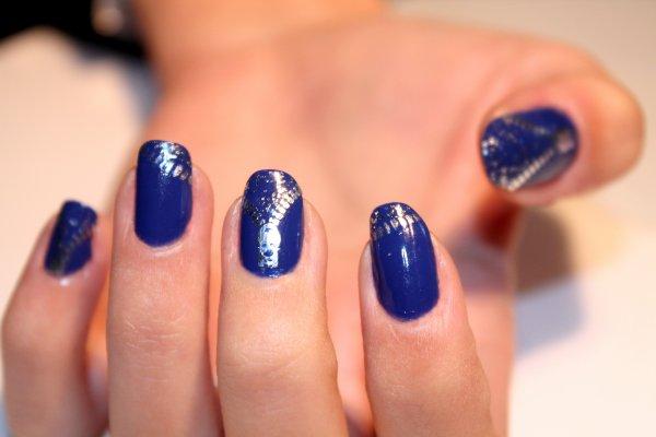 Bleu fermeture