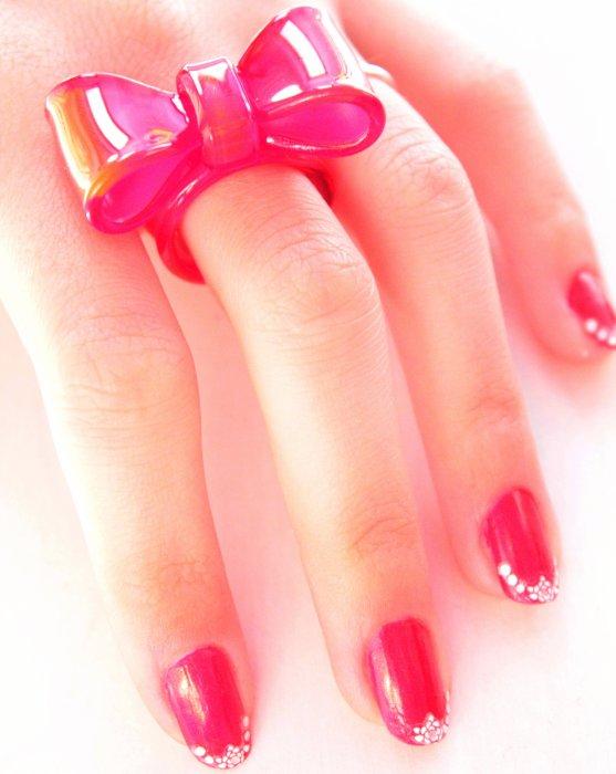 Simple beauté des ongles.