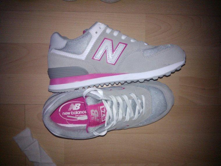 mes nouvelle chaussure