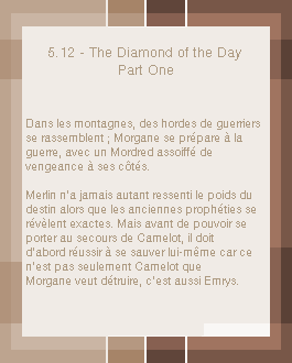 5x12 The Diamond of the Day - Part One