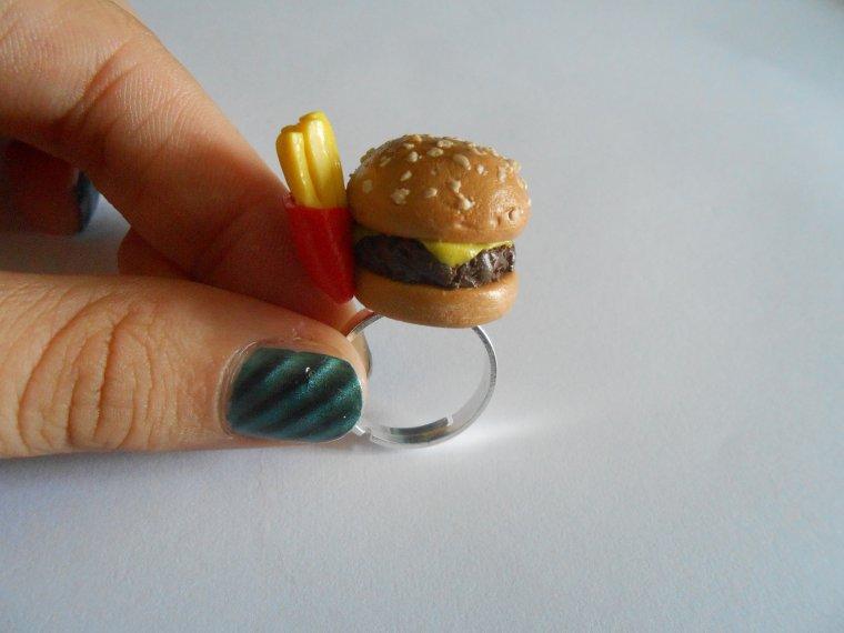 Miam Frites + burger !