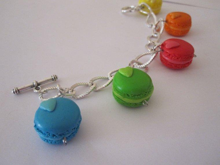 Bracelet macaron