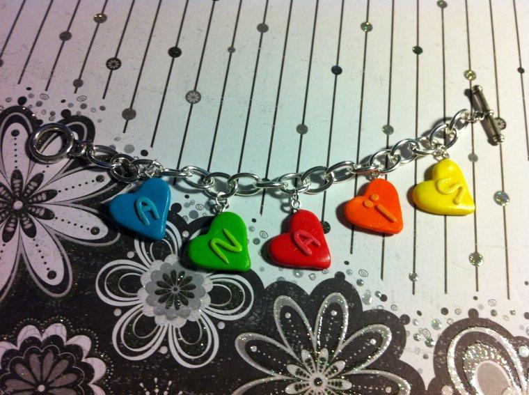 Bracelet Coeur Anaïs