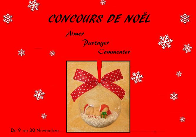 Concours de Noel sur Facebook !