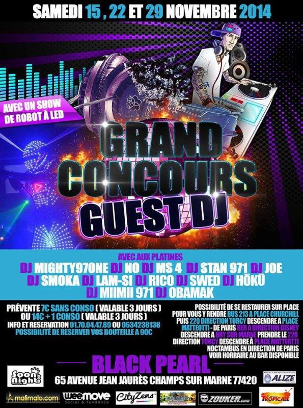 N'oublier pas la grosse soirée Guest DJ CE SAMEDI A PARTIR DE 20H