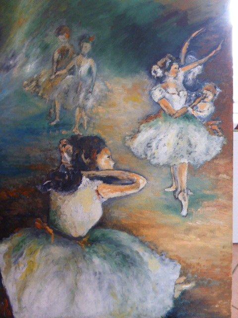 inspiré  par un tableau de Degas ?