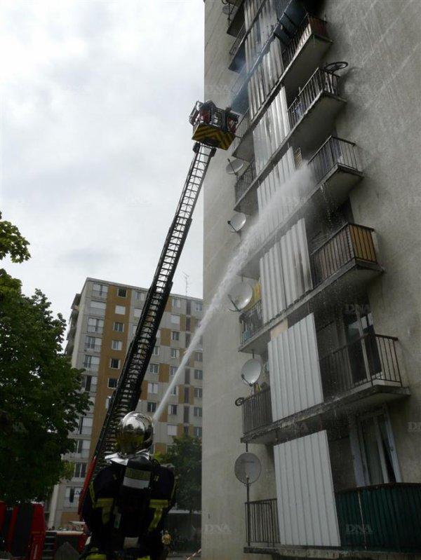 feu d'appartement a colmar 19.05.2012