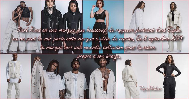 Collection Karl Kani 3 Septembre 2019. + Beverly Hills Californie 21 Juillet 1993.