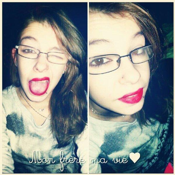 Mon monde, ma vie, le mien, celui s'en qui je suis rien.#J