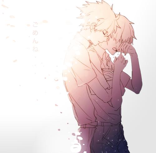 << Ta tristesse... Elle me touche au plus profond de mon coeur... Ca me donne envie de pleurer... Mais mes larmes ne coulent plus. Excuse-moi... >> Tales of symphonia