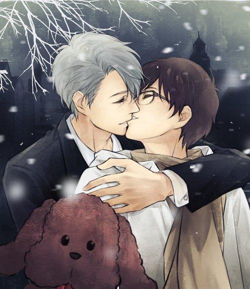 << Faites que cette année passe vite. Le bruit de pas sur la neige… Son rire… Sa main blanche et froide… Tout cela manque à Yano. Finalement, qu'est-ce que je savais de lui. Qu'est-ce que je savais ? >> C'était nous