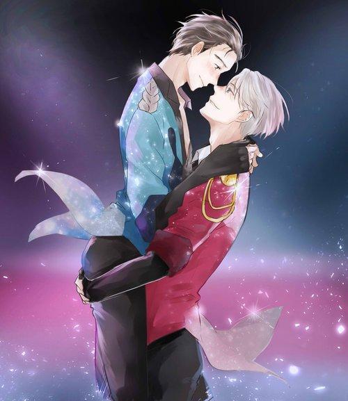 << Tu ne t'es pas rendu compte que... Je ne vous aimais pas de la même manière. En ce qui concerne Yuri, je veux seulement prendre soin de lui. Mais toi, quand je te vois tout tremblant, j'ai envie de te protéger au point d'en perdre la tête.>> Pirate Game