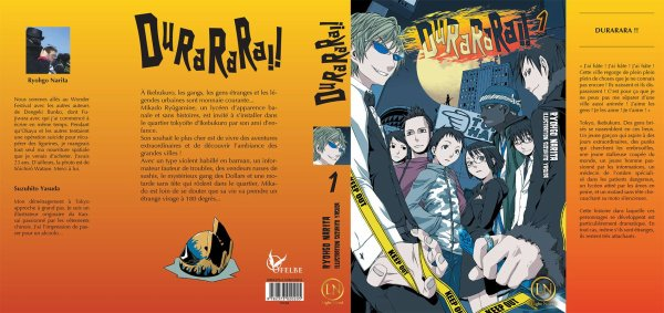 ◣ Durarara! Light novel : Tome 1 ◥