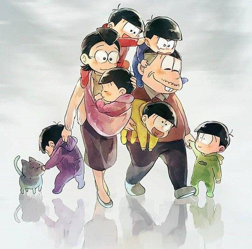 松のの家族